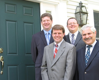 Attorneys A., Gerard O'Neil, Jr., William D. Woodbury,    James F. Lafrance, Philip P. Bonafide (Retired)